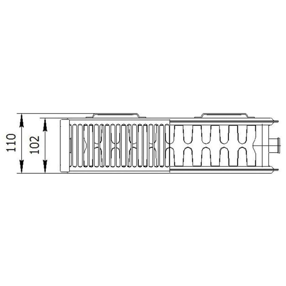 Радиатор стальной «LEMAX» Valve Compact 22 500х1300