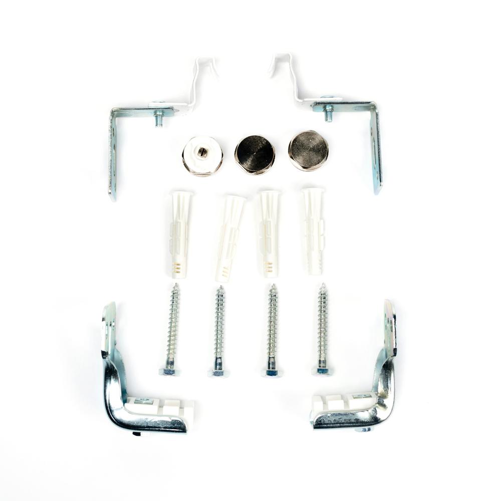 Набор монтажного комплекта для радиаторов с нижним подключением (400-1600 мм)