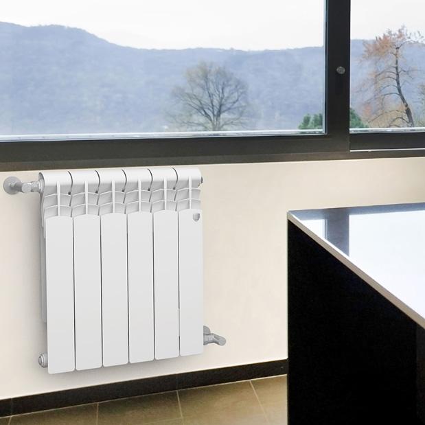 Радиатор биметаллический Royal Thermo Revolution Bimetall 500 (1 секция)